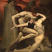 Dante And Virgil Art Print