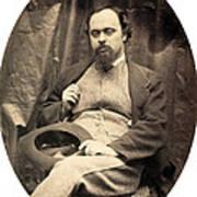 Dante Gabriel Rossetti English Poet Print by Photo Researchers