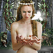 Danu Mother Goddess Art Print