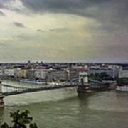 Danube River Art Print