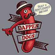 Dapperdogs Art Print
