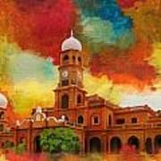 Darbar Mahal Art Print