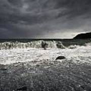 Storm Warning Art Print