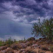 Dark Desert Skies  Art Print