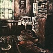 Dark Kitchen Art Print