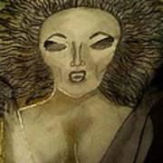 Dark Queen Art Print