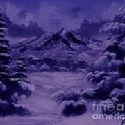 Dark Winter Art Print