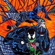 Darkhawk Issue 13 Homage Art Print