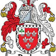 Darley Coat Of Arms Irish Art Print