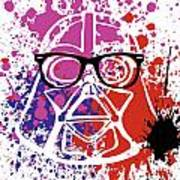 Darth Vader Corrective Lenses Art Print