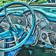Dashboard-hdr Art Print