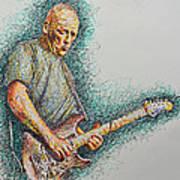 Dave Gilmour Art Print