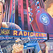 Dave Matthews And Tim Reynolds Live At Radio City Art Print