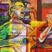 Dave Matthews-bartender Art Print