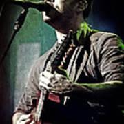 Dave Matthews Live Art Print