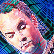 Dave Matthews Open Up My Head Art Print