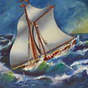 Daves' Ship Art Print