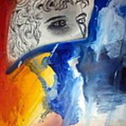 David Abstract Version Art Print