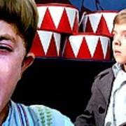 David Bennent in the film The Tin Drum Art Print