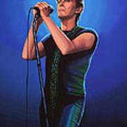 David Bowie 2 Painting Art Print