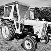 David Brown 990 Classic Tractor During Vintage Tractor Rally At Glenarm Castle Open Day County Antrim Northern Ireland Art Print