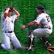David Cone Yankees Perfect Game 1999 Zoom Art Print