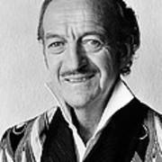 David Niven In Trail Of The Pink Panther  Art Print by Silver Screen