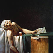 David: The Death Of Marat Art Print