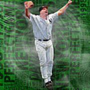 David Wells Yankees Perfect Game 1998 Art Print