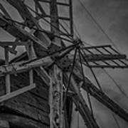 Davidson Windmill Art Print