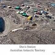 Davis Station 2012 Art Print by David Barringhaus