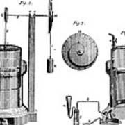 Davy: Gas Machine, 1800 Art Print