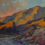 Dawn At La Quinta Cove Art Print