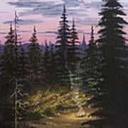 Dawn Fire Art Print