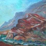 Dawn In The Gorge Art Print