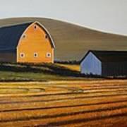 Dawn Near Lenville Art Print