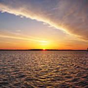 Dawn On The Chesapeak - St Michael's Maryland Art Print