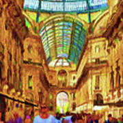 Day At The Galleria Art Print
