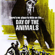 Day Of The Animals. Aka Something Out Art Print
