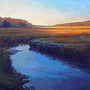 Daylight's End Art Print by Ed Chesnovitch