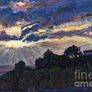 Day's End - Dingle Bay Art Print