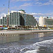 Daytona Beach Panorama Art Print