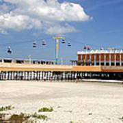 Daytona Beach Pier Pano Art Print