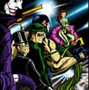 Dc Villains Art Print