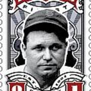 Dcla Jimmie Fox Fenway's Finest Stamp Art Art Print by David Cook Los Angeles