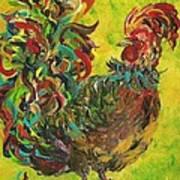 De Colores Rooster #2 Art Print