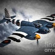 de Havilland Mosquito PR.Mk XVI Art Print
