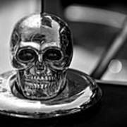 Dead Head Hood Ornament Art Print