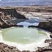 Dead Sea Sinkholes  Art Print