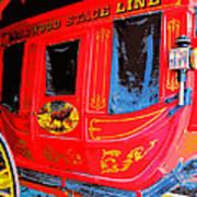 Deadwood Stagecoach Art Print